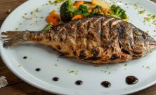 Roasted Sea Bream with Vegetables